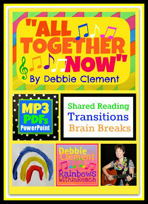 "photo of: ""All Together Now"" Song for Students: Transitions, Brain Breaks and Shared Reading by Debbie Clement"