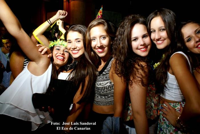 fotos Fiesta Nochevieja en agosto, Vegueta, Las palmas de Gran Canaria