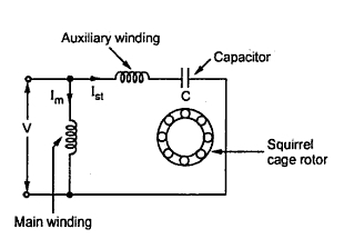 Capacitor Start Induction Motors on single phase motor with centrifugal switch wiring diagram