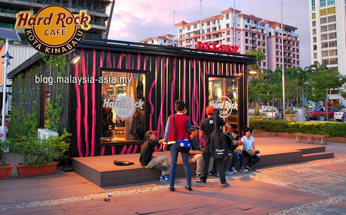Hard Rock Cafe Rock Shop Kota Kinabalu Sabah