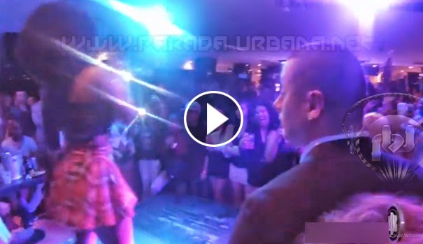 "VIDEO - Amara La Negra a casa llena en el ""BB Queen Nightclub"" en Italia!!!"