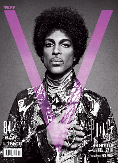 Prince on V Magazine #84 Cover by Inez and Vinoodh