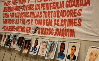 Brasil - Desaparecidos: FAMILIARES CRITICAM GOVERNO DE SÃO PAULO POR OMISSÃO