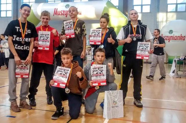Muszynianka Cup III, sport, dzieci, młodzież, kickboxing, trening, Zielona Góra, Akademia Zwycięzcy, Kadra Team,