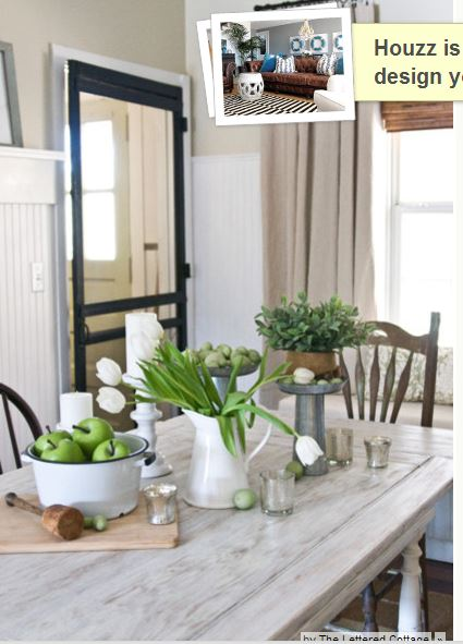 lime wash table and mohagony chairs for morning room - Morning Room Decorating Ideas