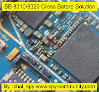 blackberry 8310/8320 batre silang solution