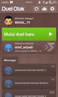 Duel Otak Mod Premium Apk Versi 2.2.2 Terbaru buat Avatar+Pertanyaan Sendiri