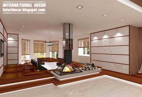 Japanese homes interior design, style, decor
