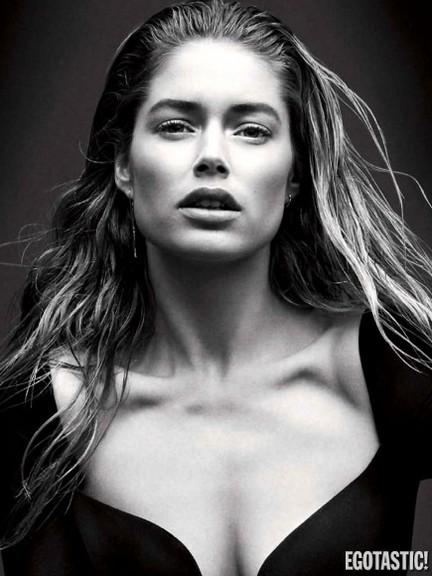 Doutzen Kroes Supe Hot Shoot i Vogue Germany March 2013
