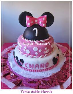 Torta Orejas Minnie