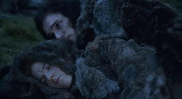 Jon Nieve Ygritte escenas eliminadas tercera temporada Juego de Tronos - Juego de Tronos en los siete reinos