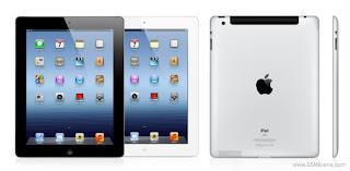 harga paling baru Ipad 3 Wi-Fi+4G  2012 spesifikasi lengkap