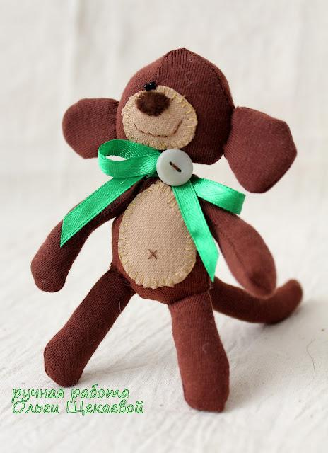 обезьянка, мартышка