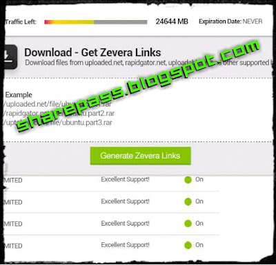 ZEVERA.COM PREMIUM ACCOUNT | SHAREPASS.BLOGSPOT.COM