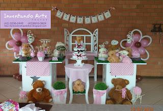 festa decoração chá de fraldas