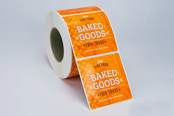 Choosing a Custom Roll Label