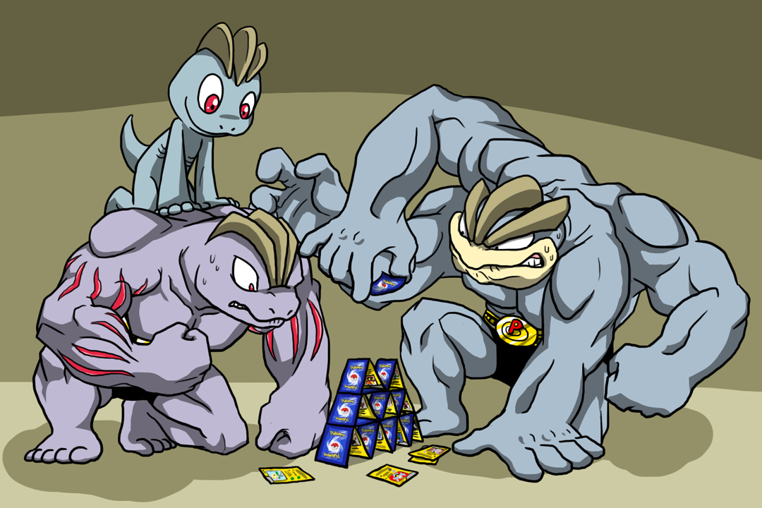Evolution of machop