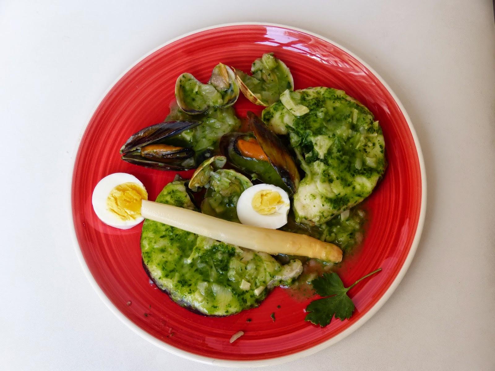 Lluç amb salsa verda