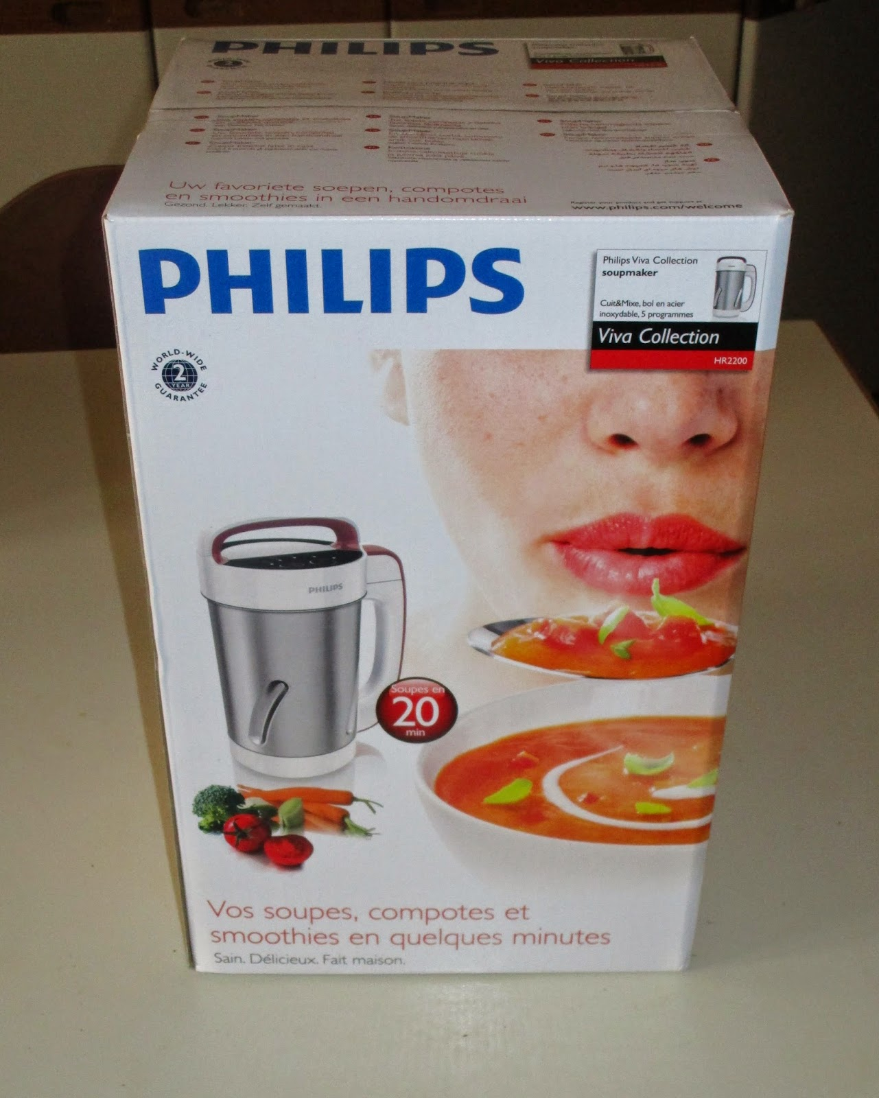 vi presento la mia soup maker philips