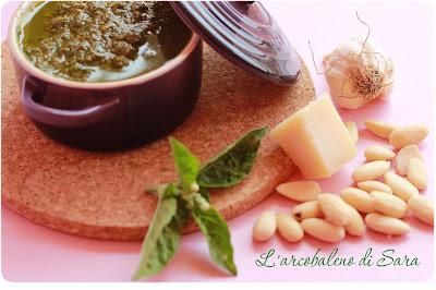 pesto#mandorle#basilico#cocottina#