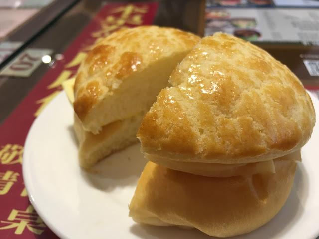bolo bun butter