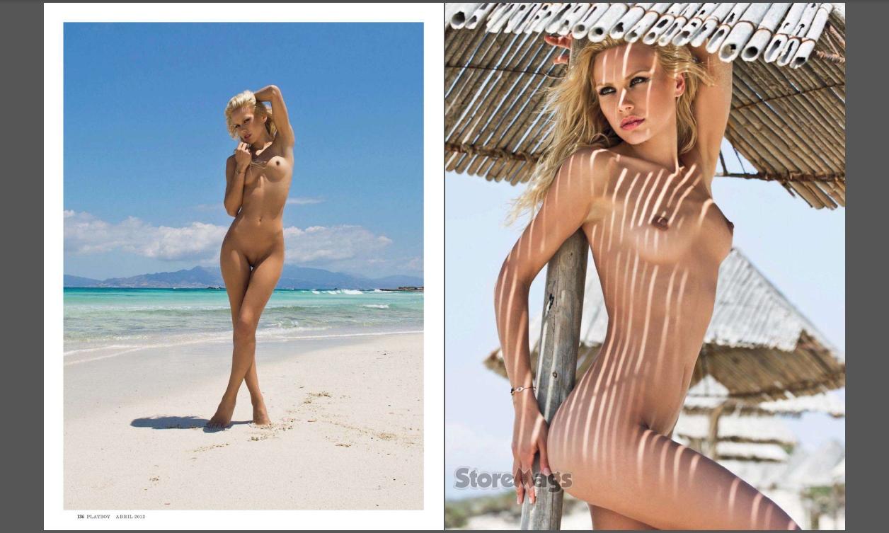 Nuas Online Katia Dede Nua Na Revista Playboy