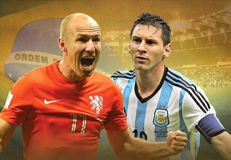 gambar Laporan Hasil Belanda vs. Argentina Di Semi Final Piala Dunia 2014