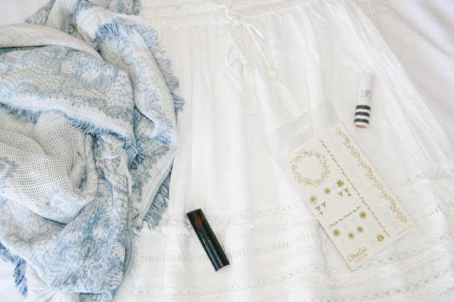 Katherine Penney Chic Haul Shopping Zara Scarf Skirt H&M Summer Lipstick Beauty Style Fashion