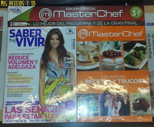 Regalo revista Saber Vivir Agosto 2015