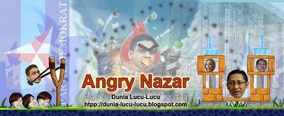 Angry Bird Model Nazaruddin vs Anas