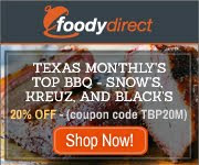 Check out the great Texas BBQ deals on foodydirect.com