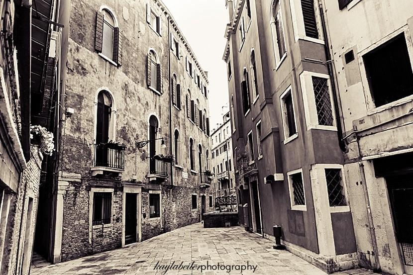 street in venice photo