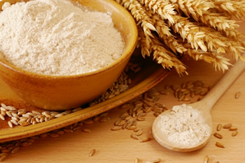 gli ingredienti magici: le farine raffinate.
