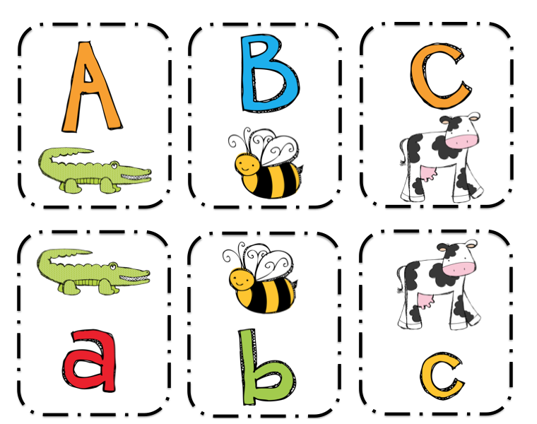 This is an image of Bright Printable Go Fish Cards