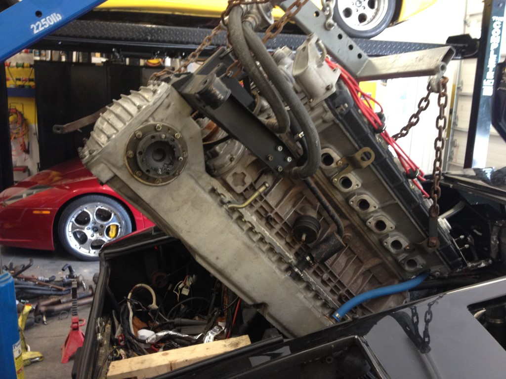 Countach Clutch Installation - TO Bearing installed wrong ...