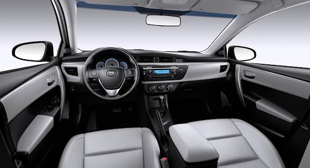 Toyota Corolla 2016 - interior
