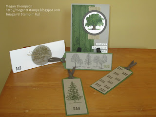 Happy Father's Day card, Dad bookmarks & sleeve