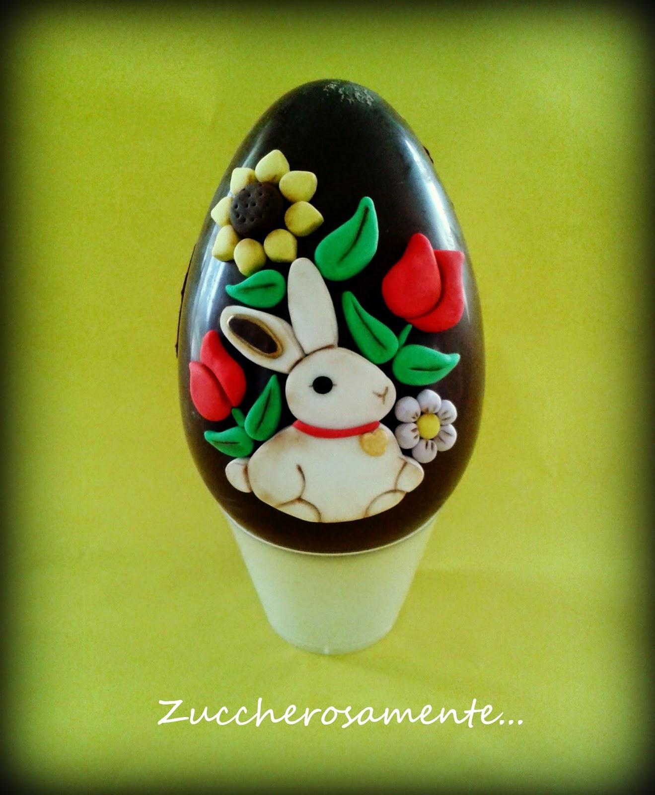 Cake Design Provincia Varese : Zuccherosamente...: Uova di pasqua decorate stile thun