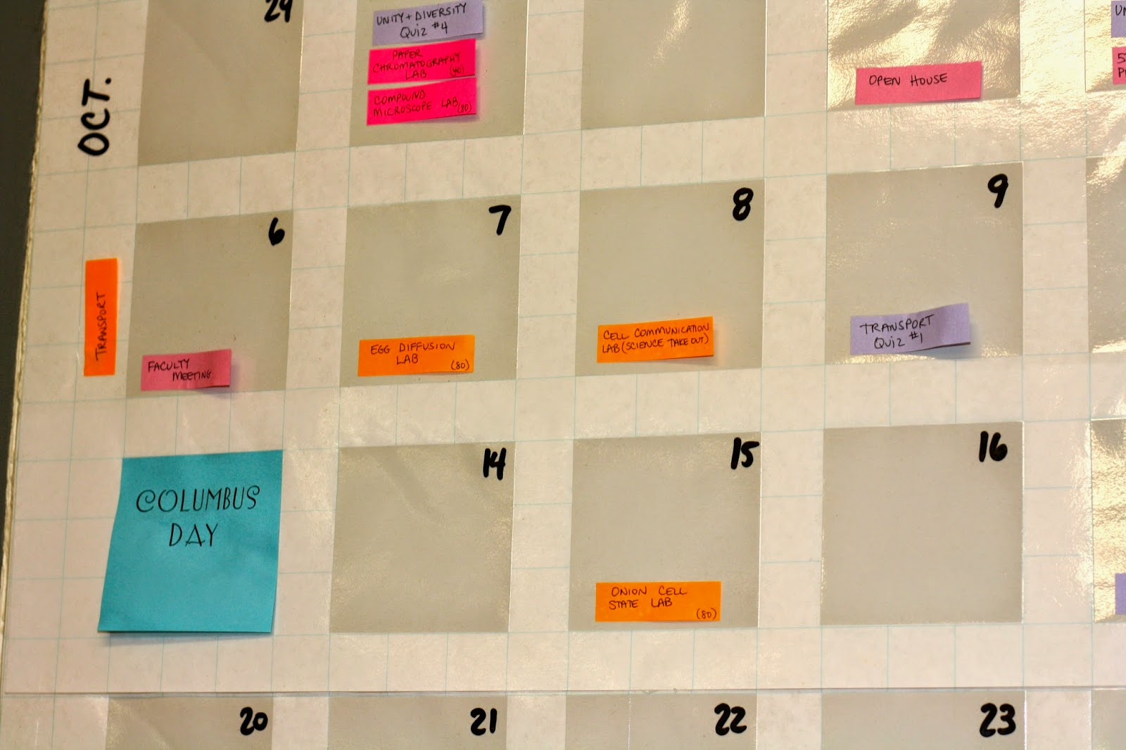 Ballin With Balling Perpetual Post It Note Calendar - Post it note calendar template