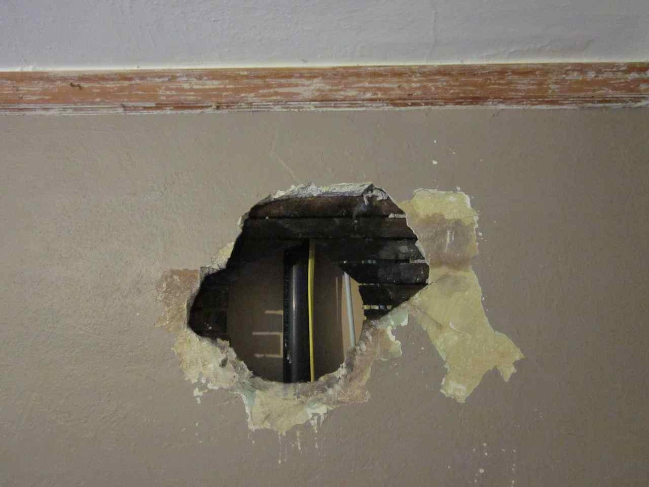 laurelhurst craftsman bungalow guest bedroom wall repair. Black Bedroom Furniture Sets. Home Design Ideas