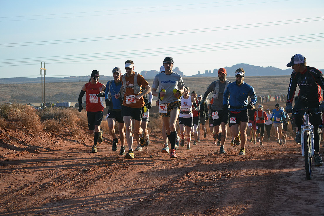 Moab Red Hot 55K: 2012 Race Report