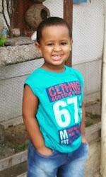 Meu príncipe com 3 anos...