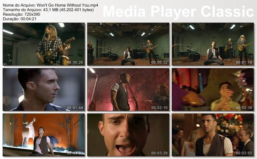 Music Video Downloads: Maroon 5 - Won't Go Home Without