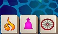 Jugar a Mahjong abstracto