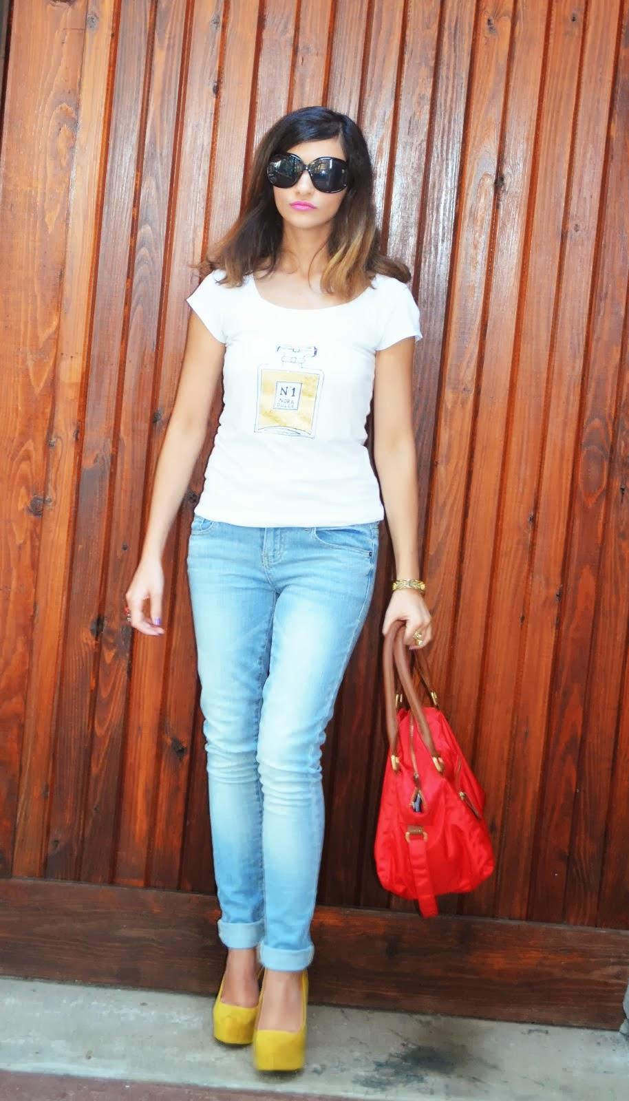 DIY T-Shirt & Jeans