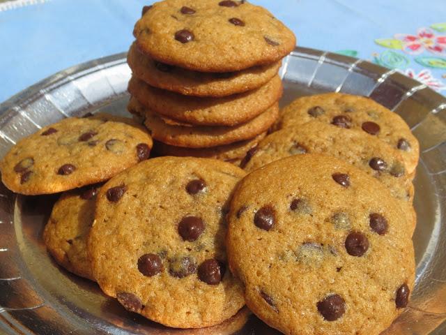 Cookies con chips de chocolate Ana Sevilla