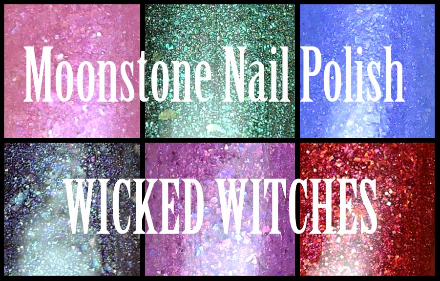 Moonstone Nail Polish - Wicked Witches collection