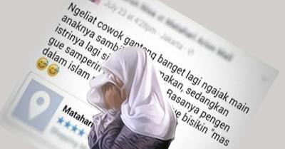 Status FB Cewek Ini Menampar Seluruh Wanita! Kok Bisa ?