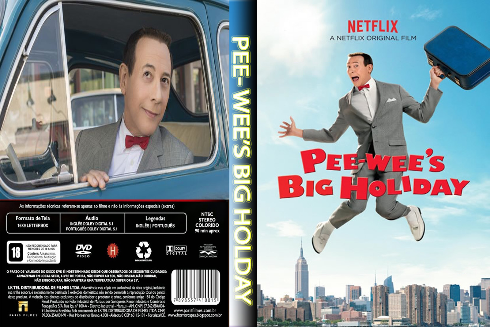 Torrent - Pee-wee's Big Holiday Blu-ray 720p Dual Áudio 5.1 (2016)