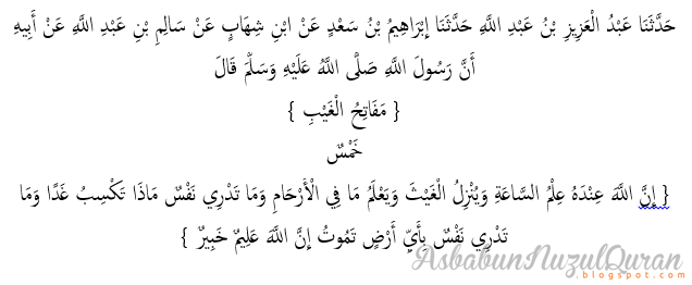 Quran Surat Luqman ayat 35|Penjelasan